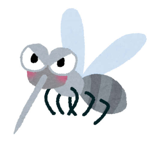 人類が困り果てるほど厄介な害虫の蚊(カ)