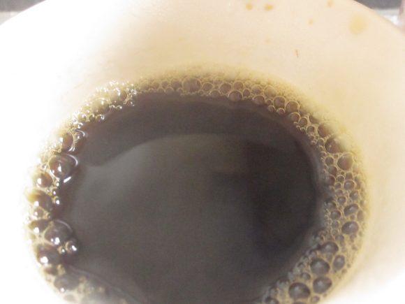 ほろ苦い大人の味の珈琲が抽出されて香りでリラックス効果も