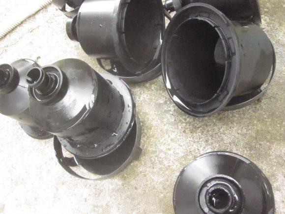 容器と蓋も同様に汚れを洗い流す