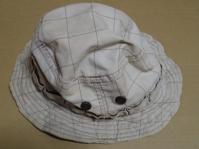 古着屋で購入した10年選手のベテラン帽子(ハット)
