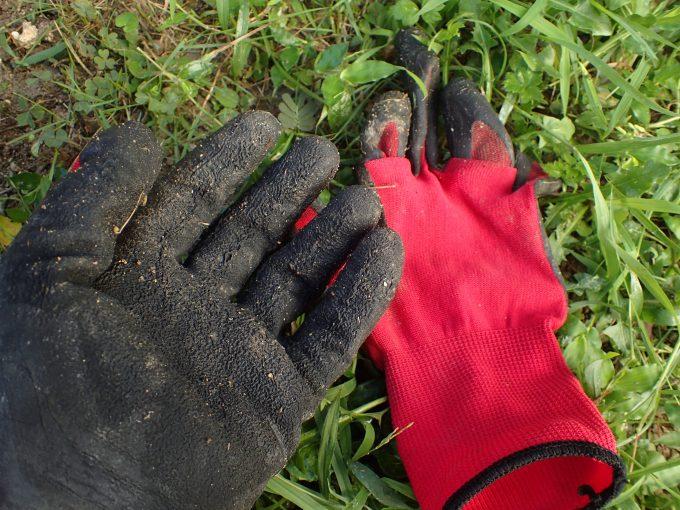 ガーデニング・農作業に必須のゴム手袋