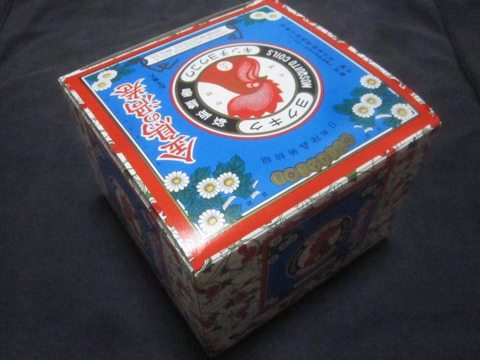 金鳥の渦巻(蚊取り線香) 50巻入りの箱