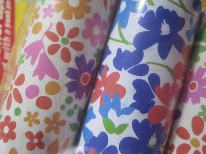 一番変わっていたのは筒の柄・デザインが花柄とオシャレになっていたこと