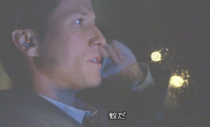 """ジェニファーの彼氏(恋人)の刑事トーマスが犯人を""""蚊""""だと特定した瞬間のシーン!"""