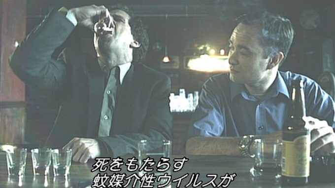 命を救われた男性に酒をおごってもらうのだが・・・