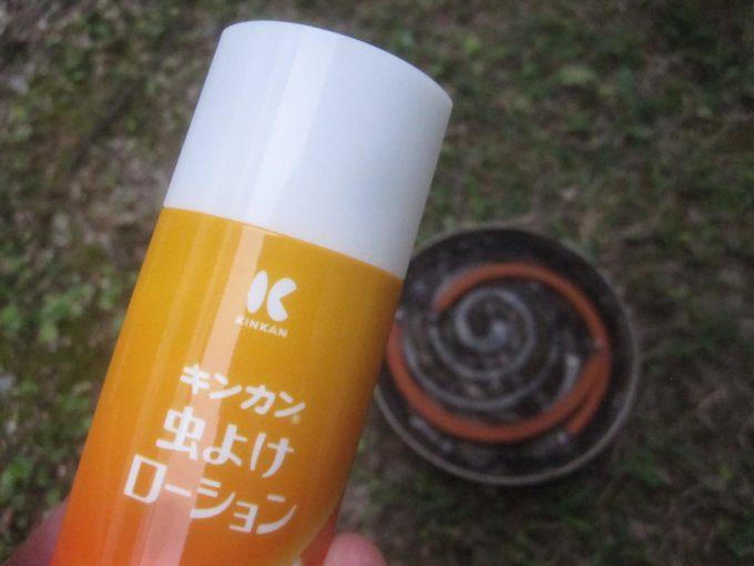 キンカン虫よけローションを蚊取り線香と併用して蚊よけ対策を行う!