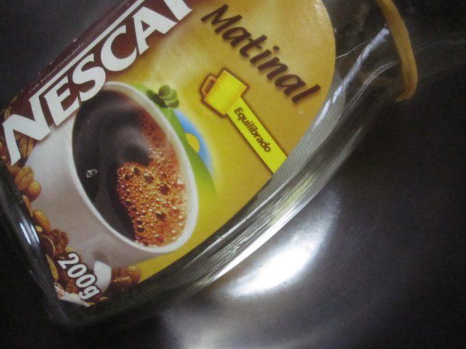 インスタントコーヒーの空き瓶