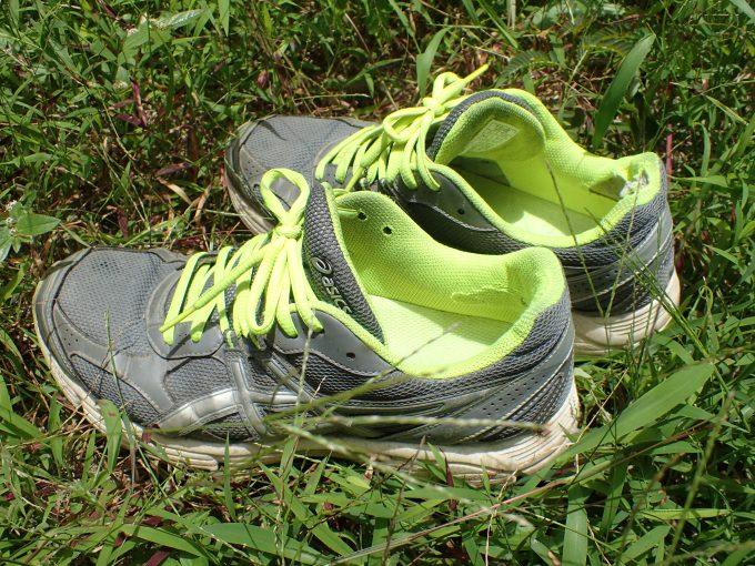 ほぼ毎日履いてるのに約1年間洗っていない運動靴