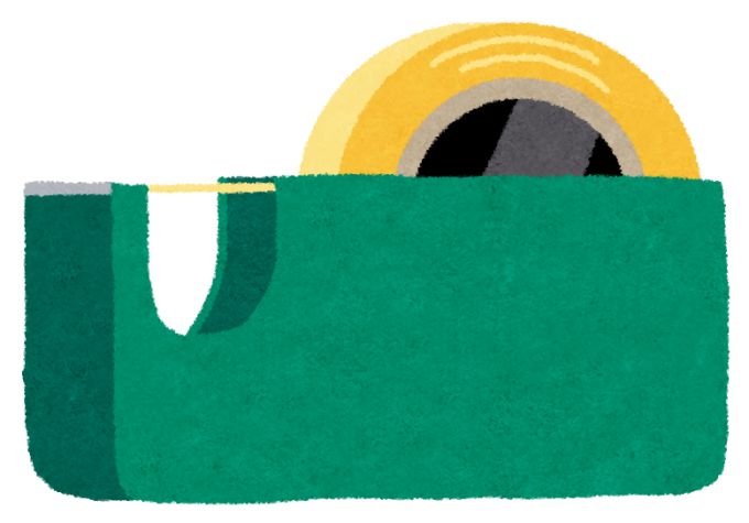 セロテープ・セロハンテープのイラスト
