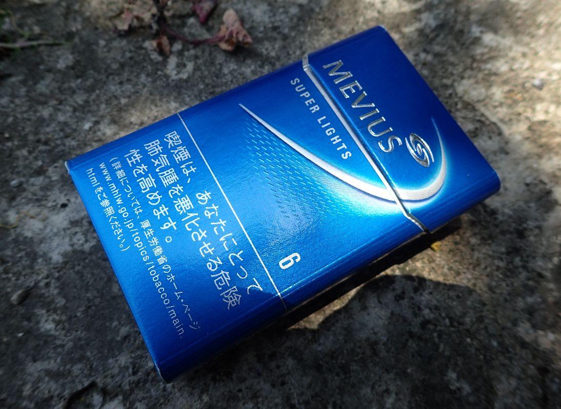 JTが販売する煙草メビウス