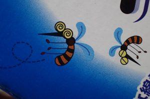 ペティオ蚊取りくん箱のイラスト